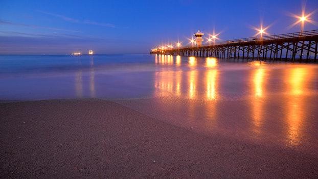 Free stock photo of beach, water, ocean, sunrise