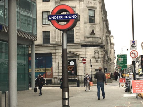 Free stock photo of London Tube, underground station, warren street