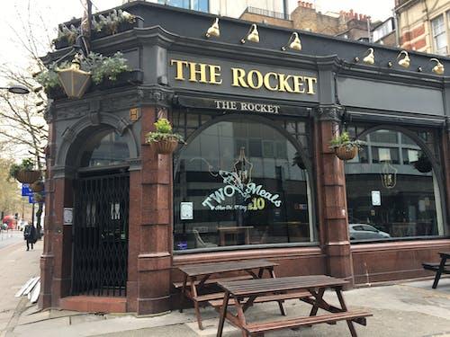 Free stock photo of lockdown, locked up pub, london pub