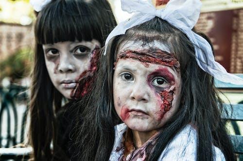 Photos gratuites de des morts-vivants, enfants, filles, gens