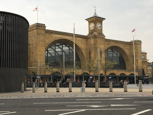 Free stock photo of kings cross station, lockdown, under lockdown