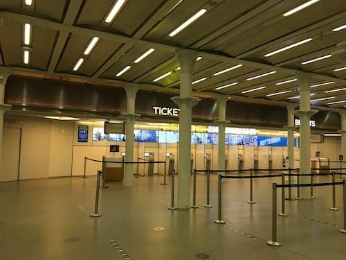 Free stock photo of empty station, lockdown, ticket