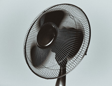 Free stock photo of wind, fan