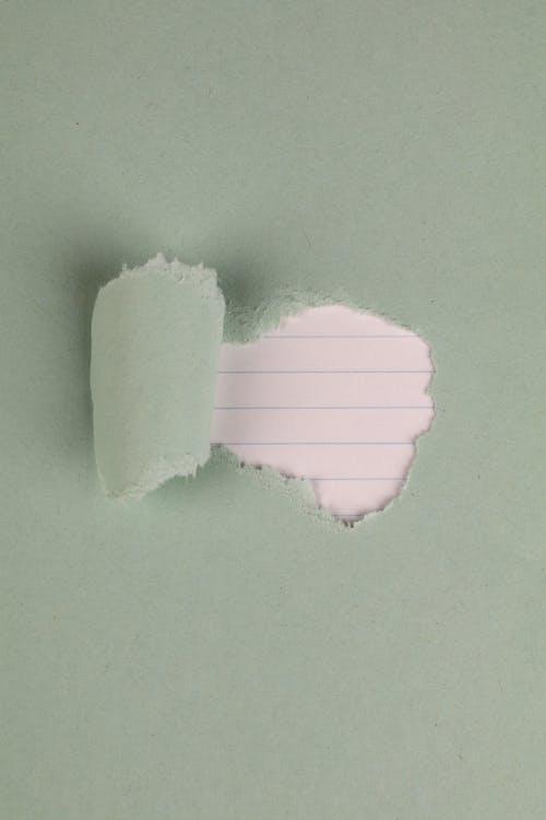 Fotobanka sbezplatnými fotkami na tému čiary, pastelovo zelená, roztrhaný papier