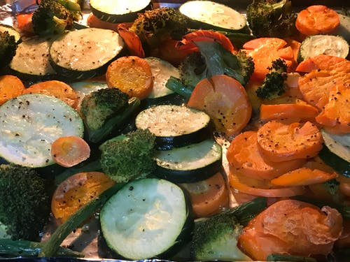 Free stock photo of fresh vegetable, roasted