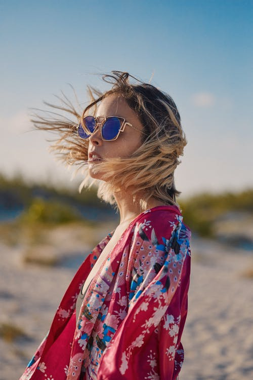 Free stock photo of beach, fashion, freedom