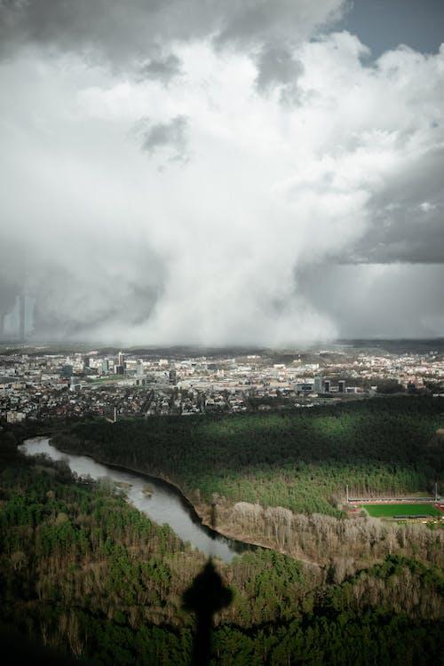 Δωρεάν στοκ φωτογραφιών με βουνό, βροχή, δέντρο