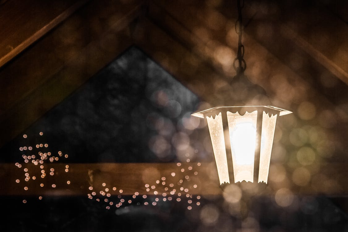 Free stock photo of lamp, lights, night