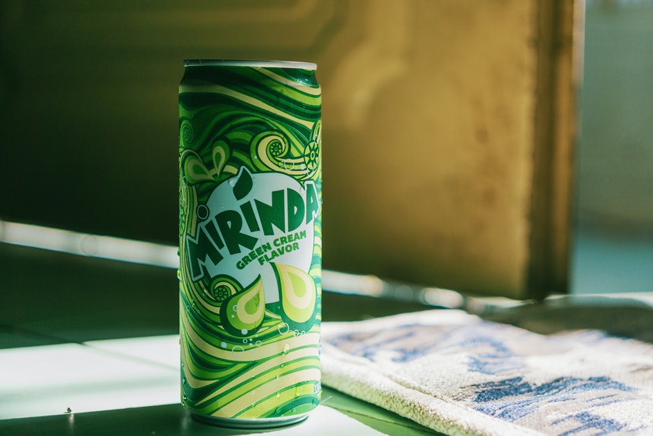 Close-up Photography of Soda Can