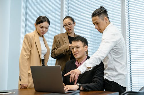 Photos gratuites de bureau, businessmen, businesswomen