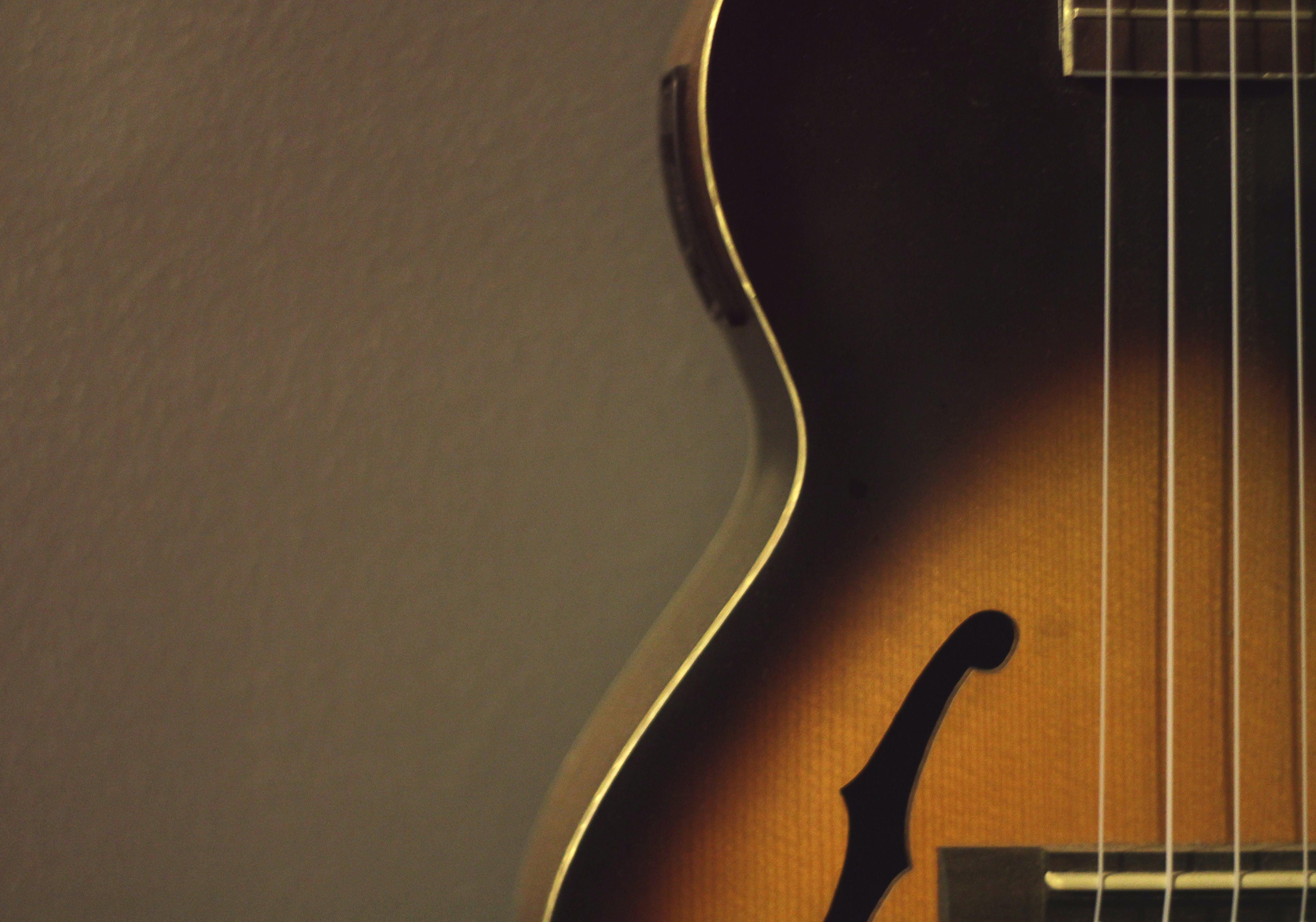 Free stock photo of night, music, instrument, ukulele