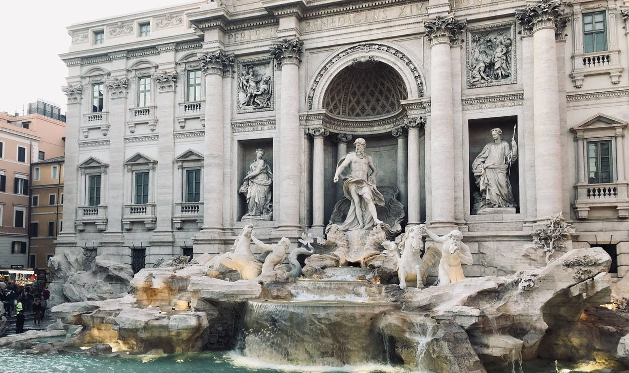 Trevi Fountain During Daytime