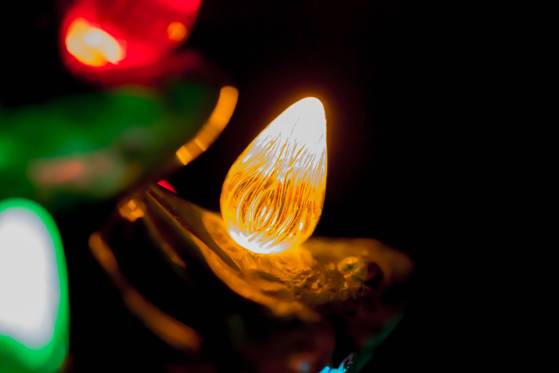 Macro-photo of Light Bulb