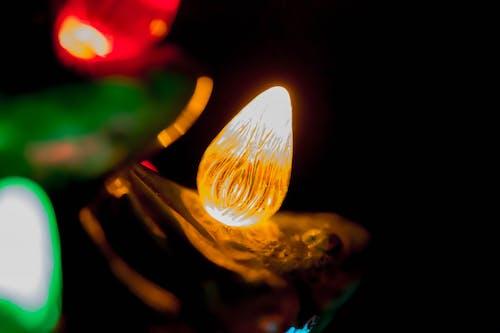 Бесплатное стоковое фото с вечер, люминесценция, ночь, огни