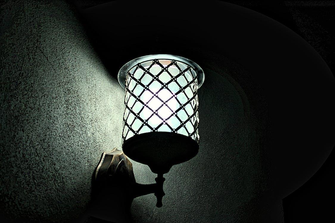 bayangan, bohlam, bola lampu