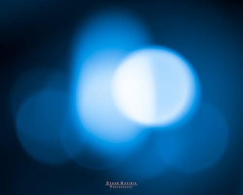Foto stok gratis 60d, abstracto, azul, canon