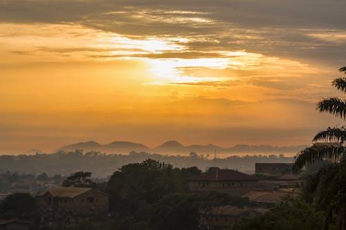 Foto profissional grátis de amanhecer cedo, ascensão do sol, céu do sol