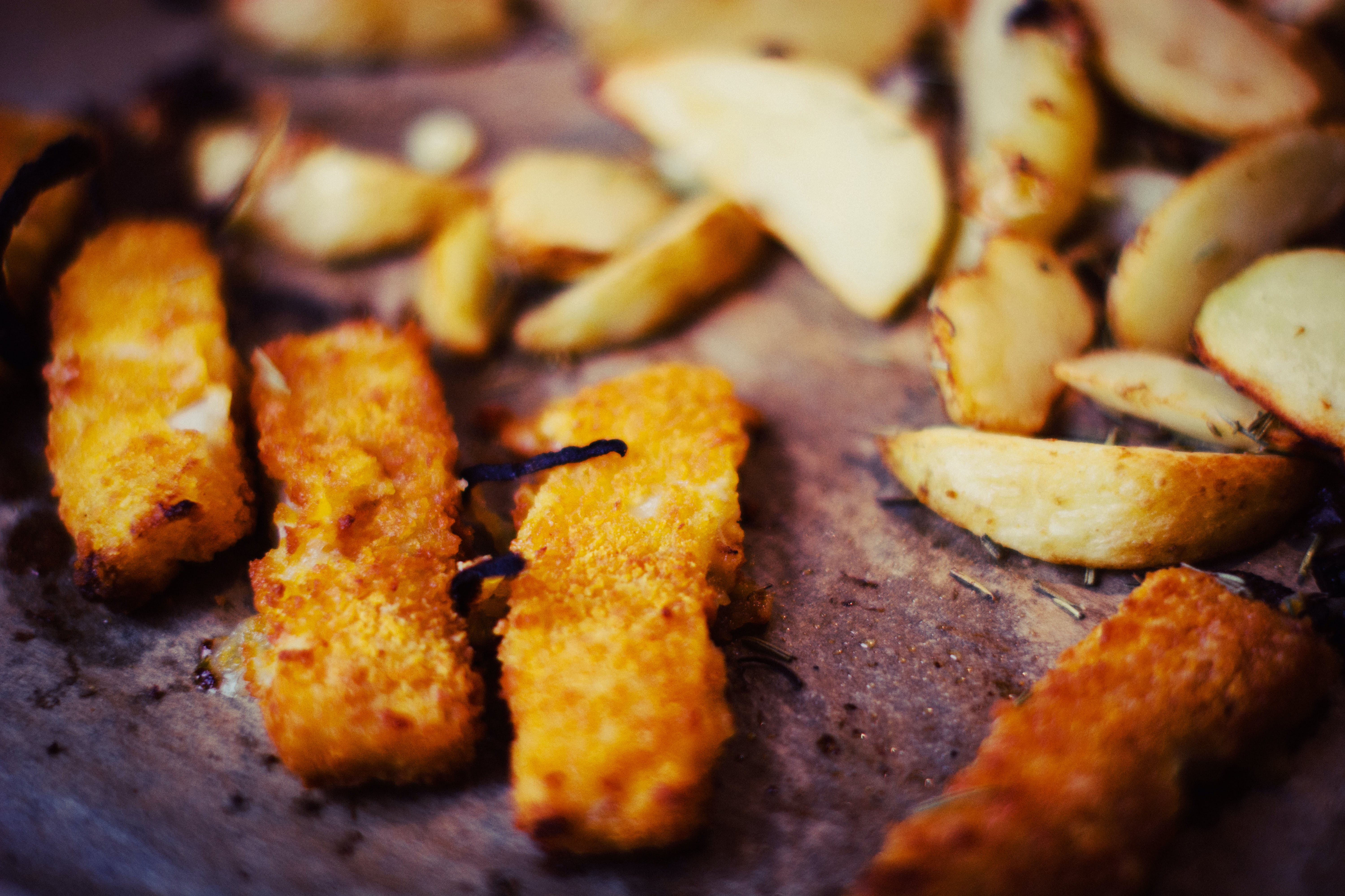 Free stock photo of food, dinner, quartiers, potato wedges