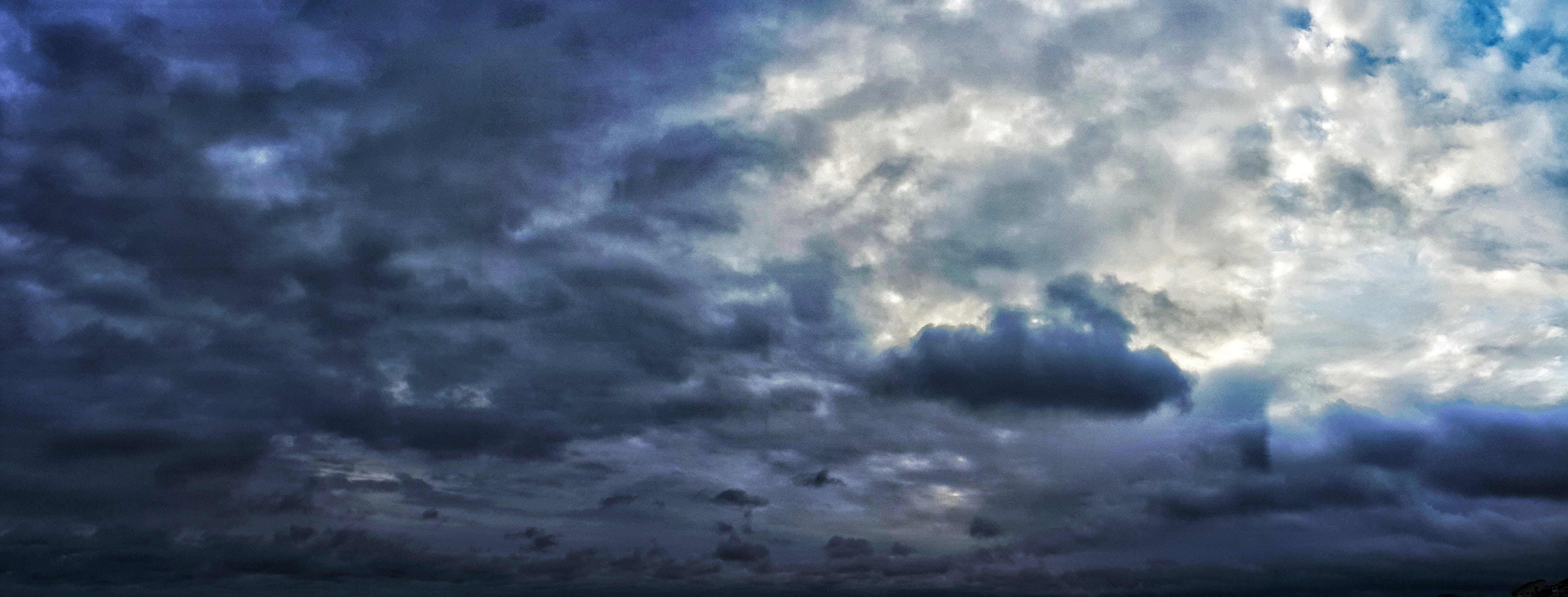 Free stock photo of blue, clouds, rain, storm