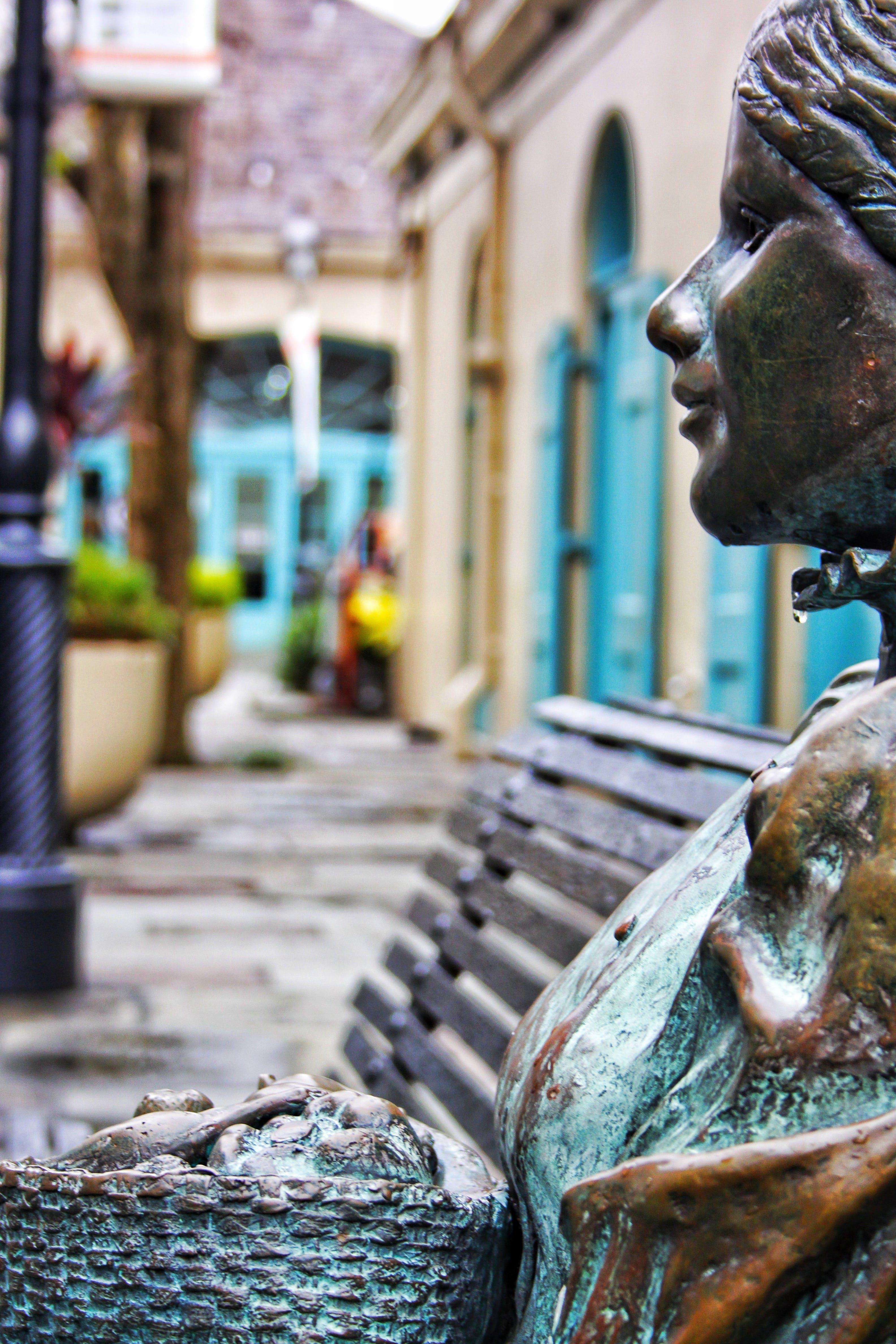 Free stock photo of neworleans, park, sculpture, statue