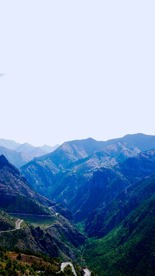 경치, 경치가 좋은, 도로, 산의 무료 스톡 사진
