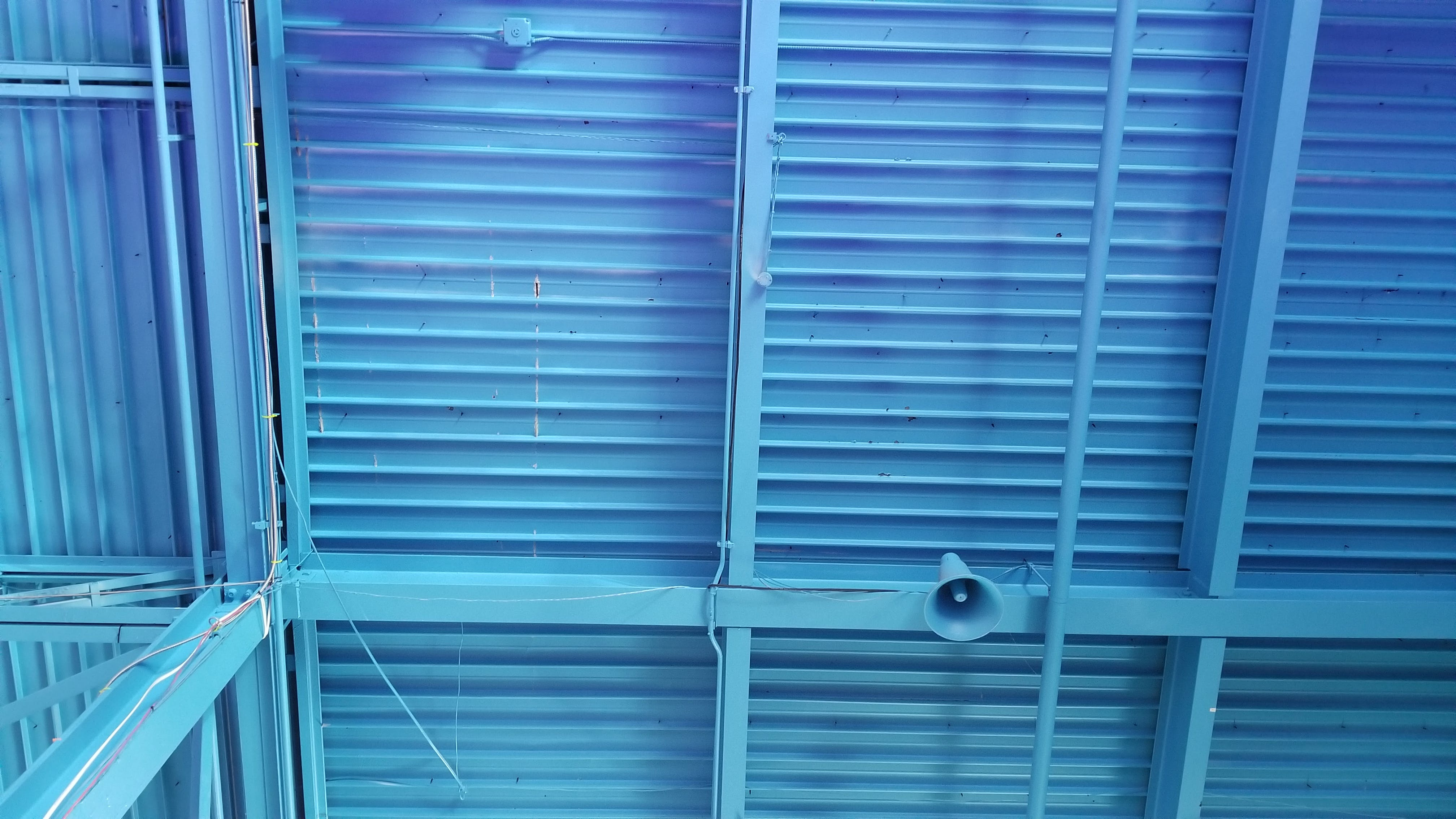 Free stock photo of Blue ceiling, ceiling