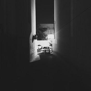Free stock photo of night, iphone, dark, alley