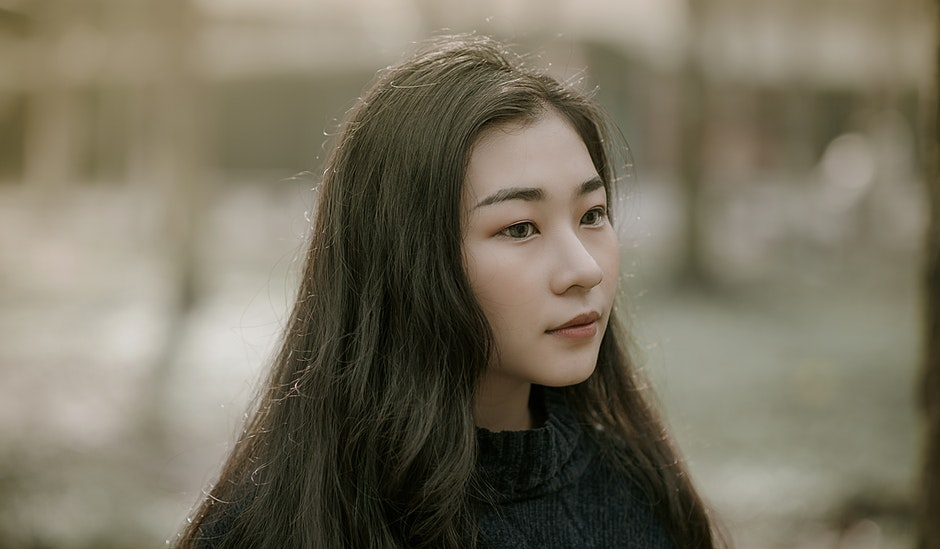 Close-Up Photography of Asian Girl