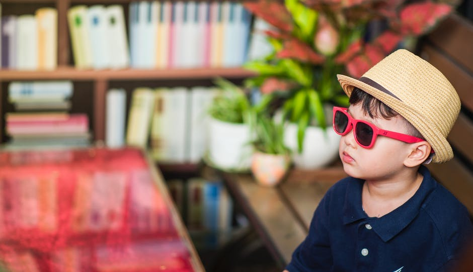 Photography of a Boy Wearing Sunglasses