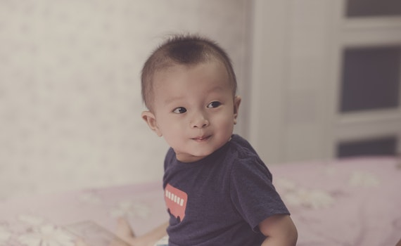 Close-Up Photography of Cute baby