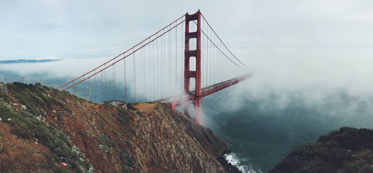 bro, Golden Gate-bron, HD tapeter