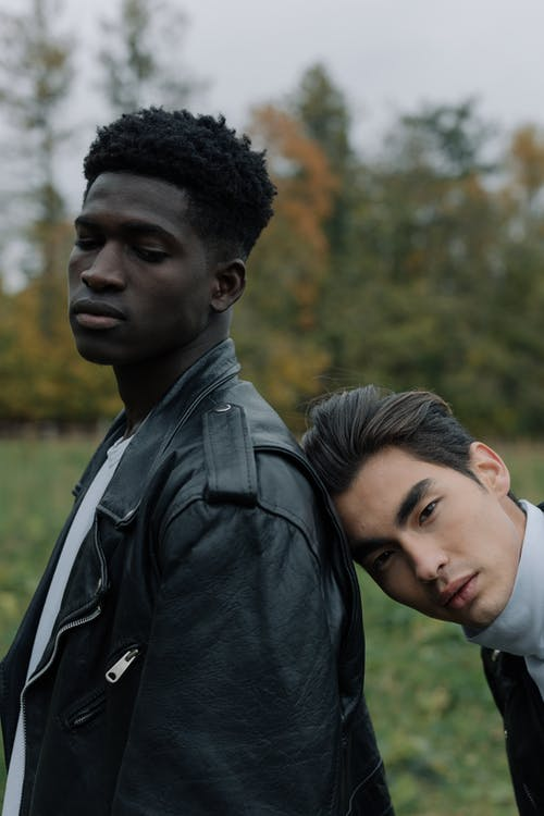 Gratis stockfoto met Afro-Amerikaanse man, aziatische kerel, Aziatische man