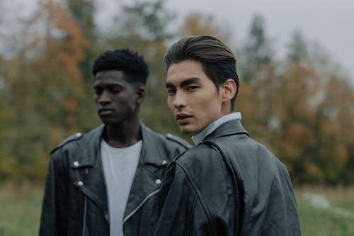 Ingyenes stockfotó afro-amerikai férfi, ázsiai férfi, divat témában