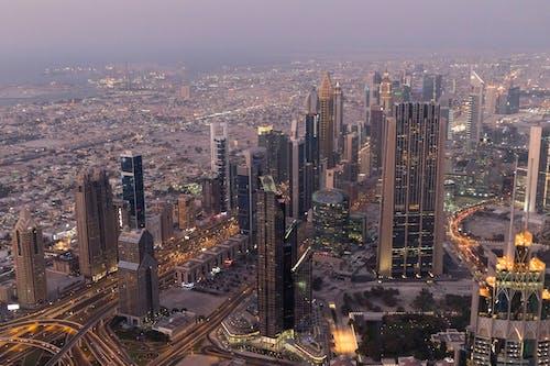 Kostnadsfri bild av arkitektur, byggnader, från ovan