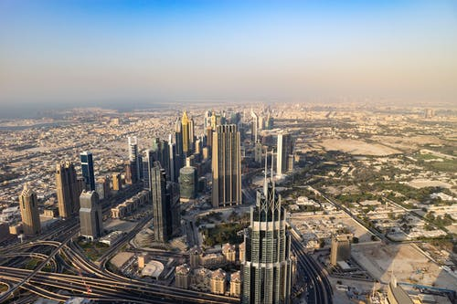 Aerial Shot of Buildings