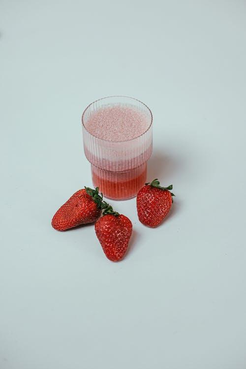 건강한, 과일, 단백질 쉐이크의 무료 스톡 사진