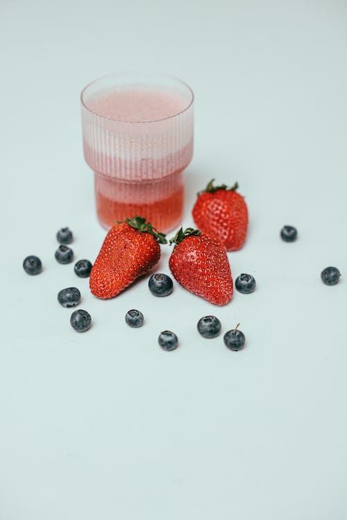 Darmowe zdjęcie z galerii z drink, jagody, napój