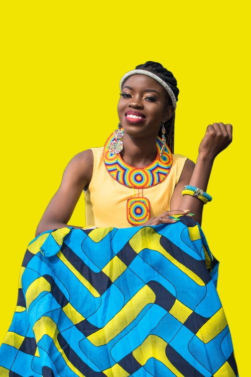 Бесплатное стоковое фото с африканка, бодрый, веселый