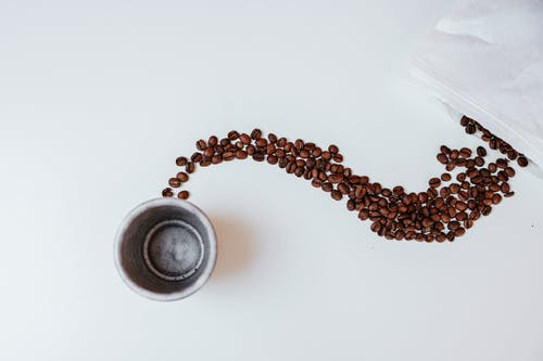 Brown and Black Beaded Necklace