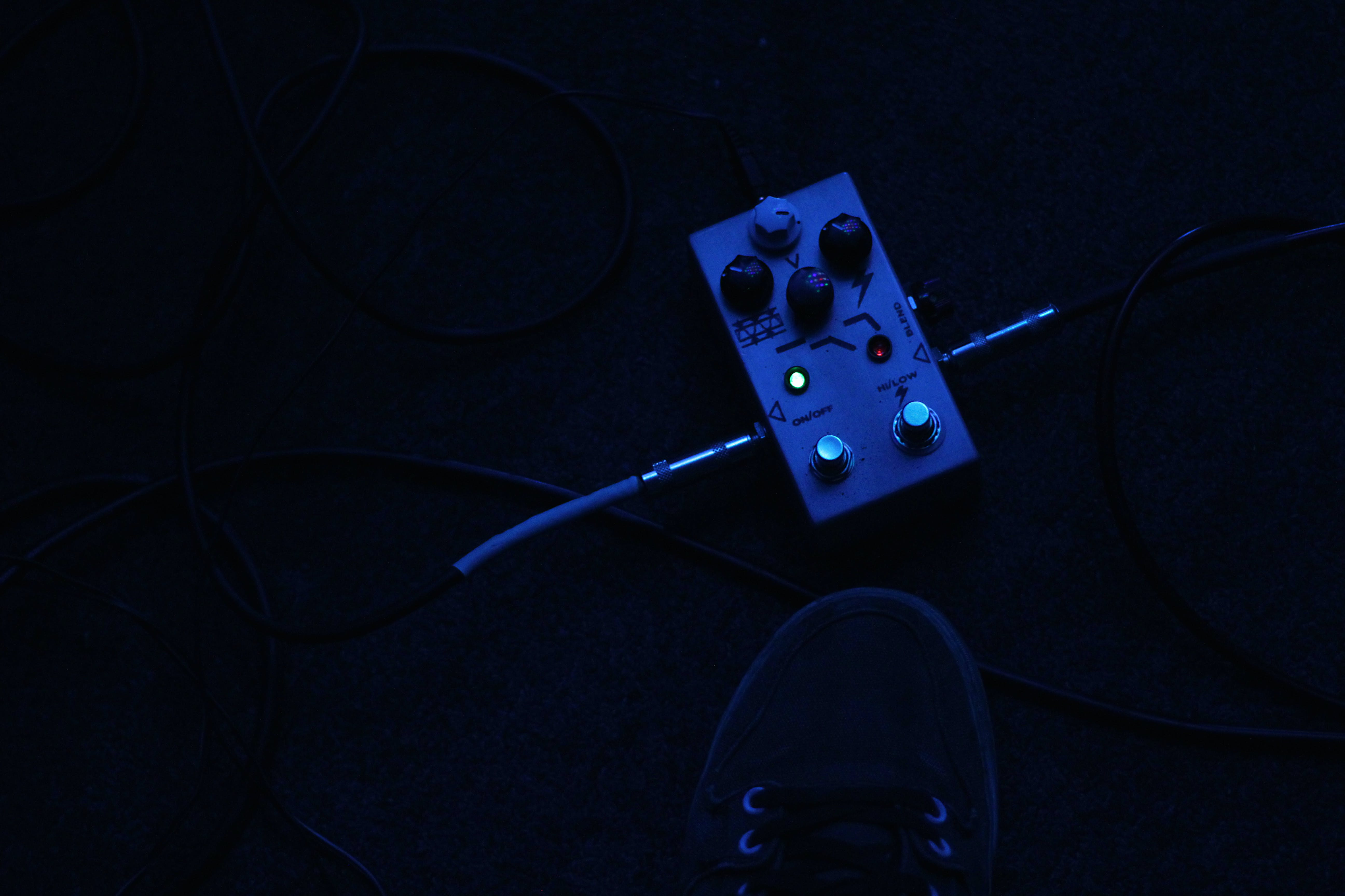 Free stock photo of music, guitar, pedals, bass