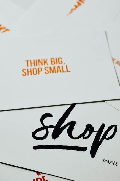 Foto stok gratis berbelanja kecil, berpikir besar, bisnis kecil