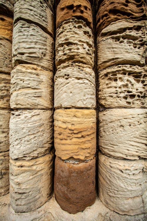 Foto d'estoc gratuïta de columnes, pedres