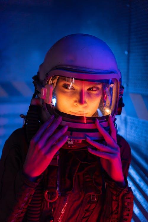 Woman In Spacesuit