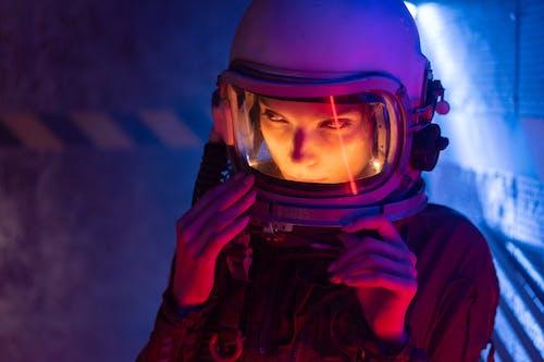 Бесплатное стоковое фото с galaxy, астронавт, Взрослый