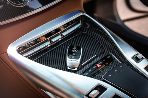 Carbon Fiber Car Center Console