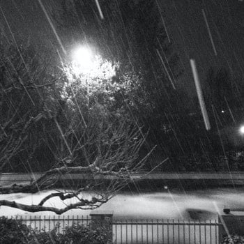 Free stock photo of snow, night, winter, fossoli
