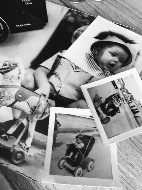Free stock photo of b amp w, babies, old photos