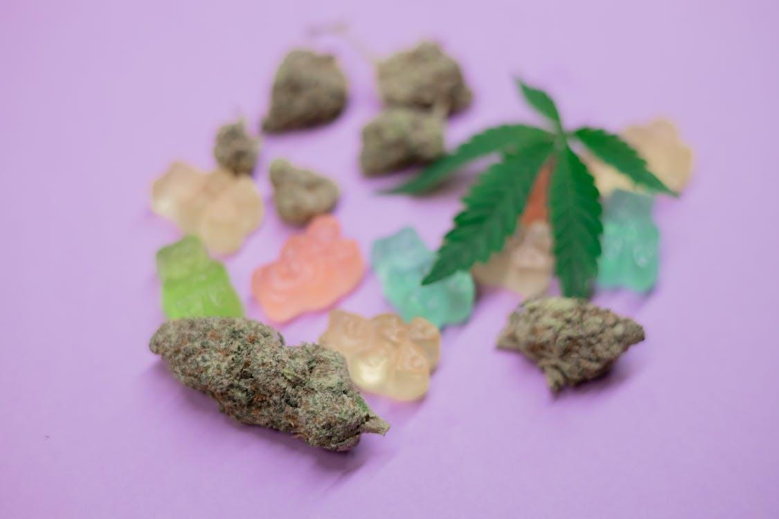 Close-Up Photo of Cannabis Bud