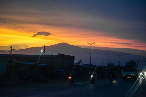 Foto profissional grátis de ascensão do sol, céu do sol, lindo pôr do sol
