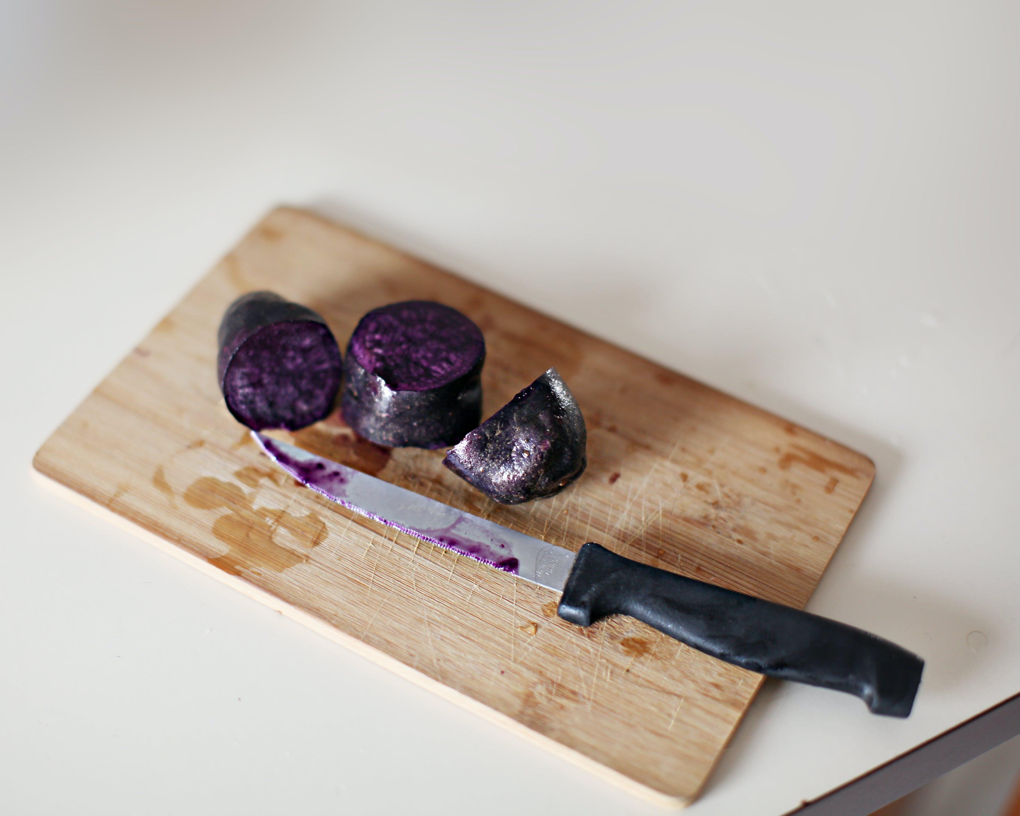 Gratis lagerfoto af klippe, madlavning knive, violaceae